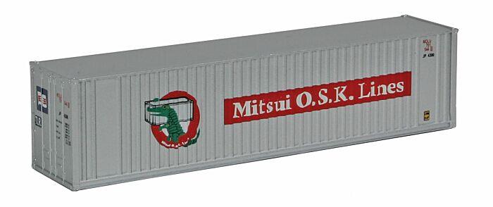 Walthers Escala H0 Contenedor 40 Pies Mitsui Osk L/íneas Mol