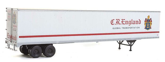 Walthers HO Scale 48/' Van Trailer England NEW IN PKG