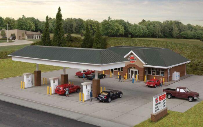 Walthers Cornerstone 933-3537 Modern Gas Station Main Building Kit