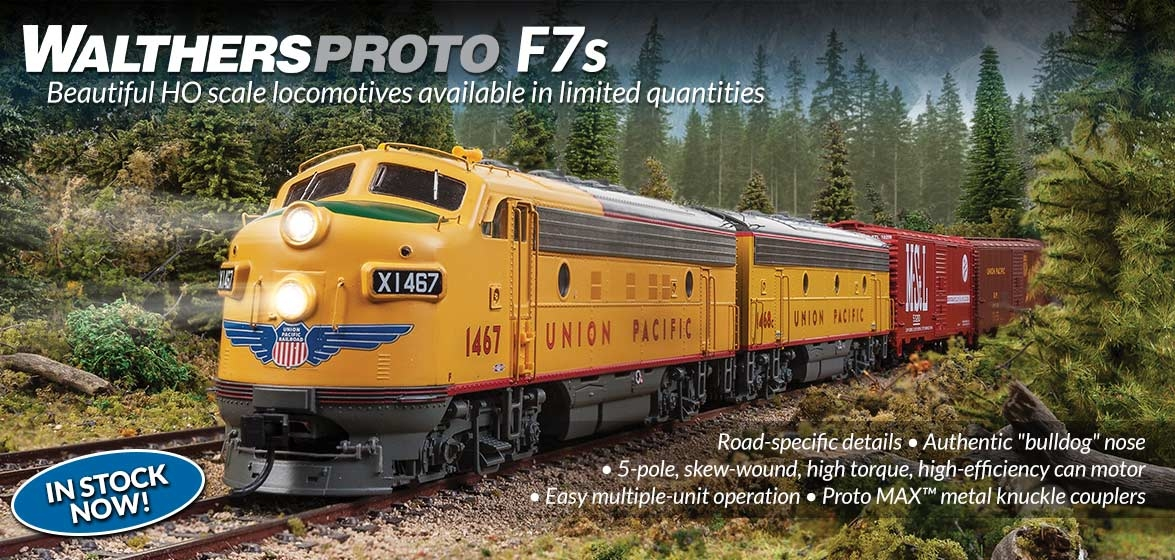 WalthersProto F7s