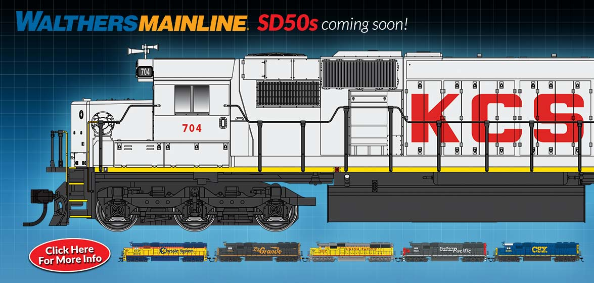 WalthersMainline SD50s