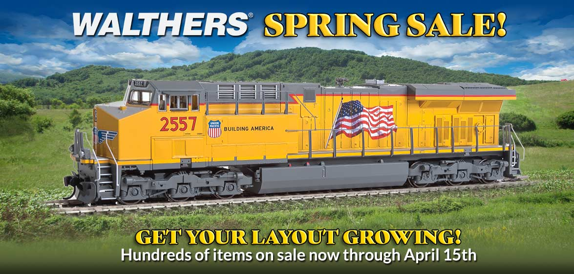 Walthers Spring Sale!