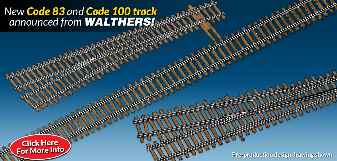 New Code 83 and Code 100 Track