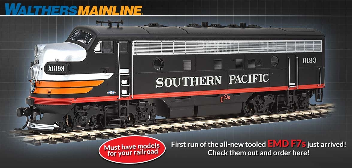 All-New Tooled EMD F7s