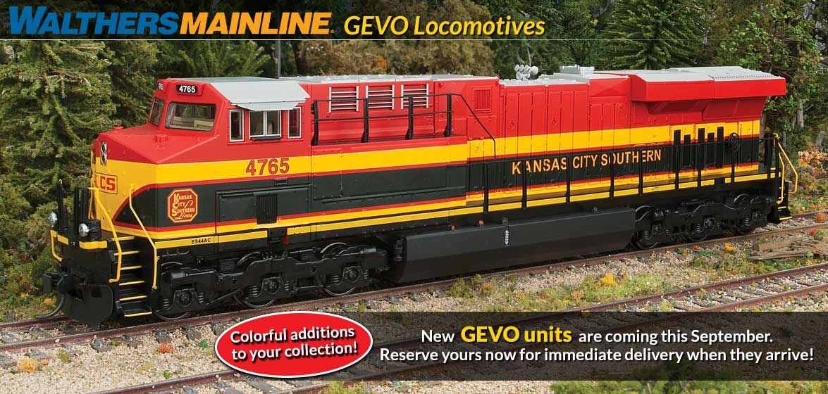 GEVO Locomotives