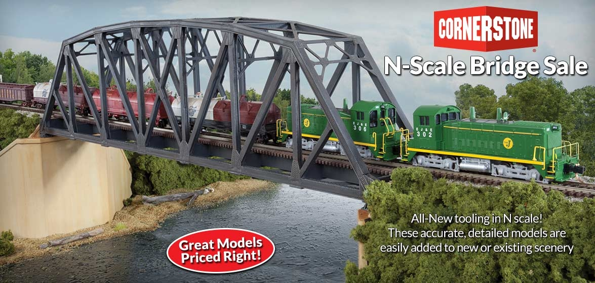 Cornerstone<br />N Scale Bridge Kits