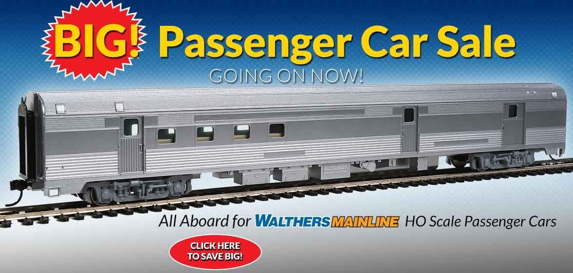 WalthersMainline<br />Passenger Car Sale