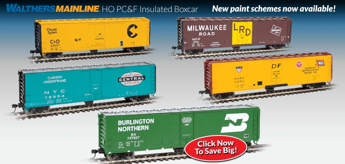 WalthersMainline HO PC&F Insulated Boxcar