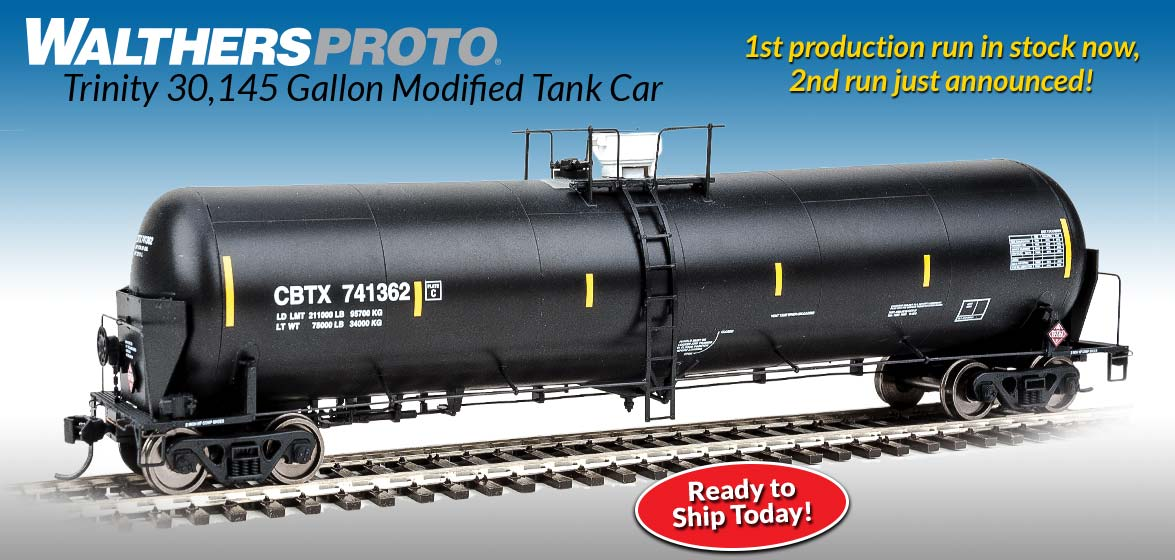 WalthersProto Trinity<br />30,145 Gallon<br />Modified Tank Car