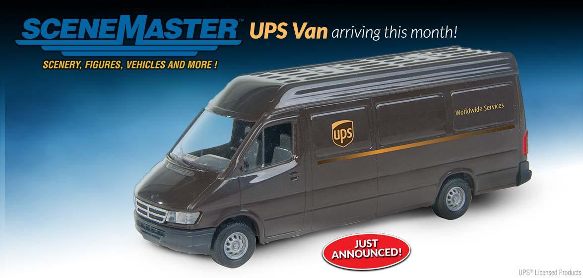 SceneMaster UPS Van