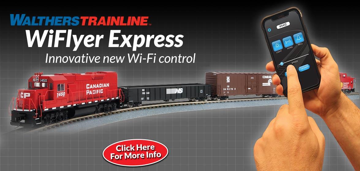 WalthersTrainline<br />WiFlyer Express