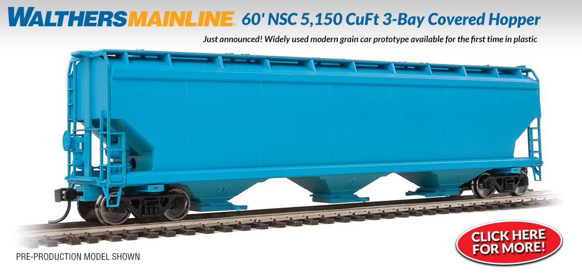 3-Bay Covered Hopper