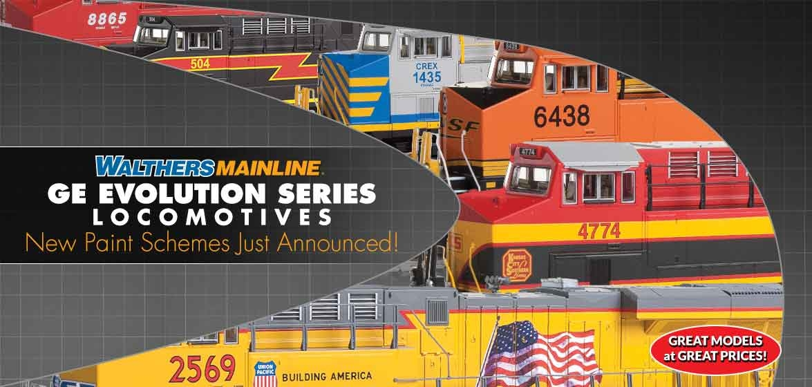 New WalthersMainline<br />GE Evolution Series
