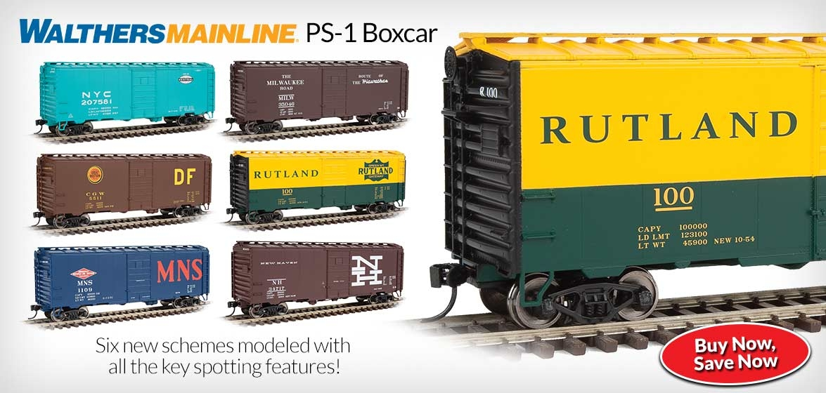WalthersMainline<br />PS-1 Boxcar