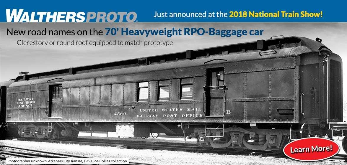70' Heavyweight<br />RPO-Baggage Car