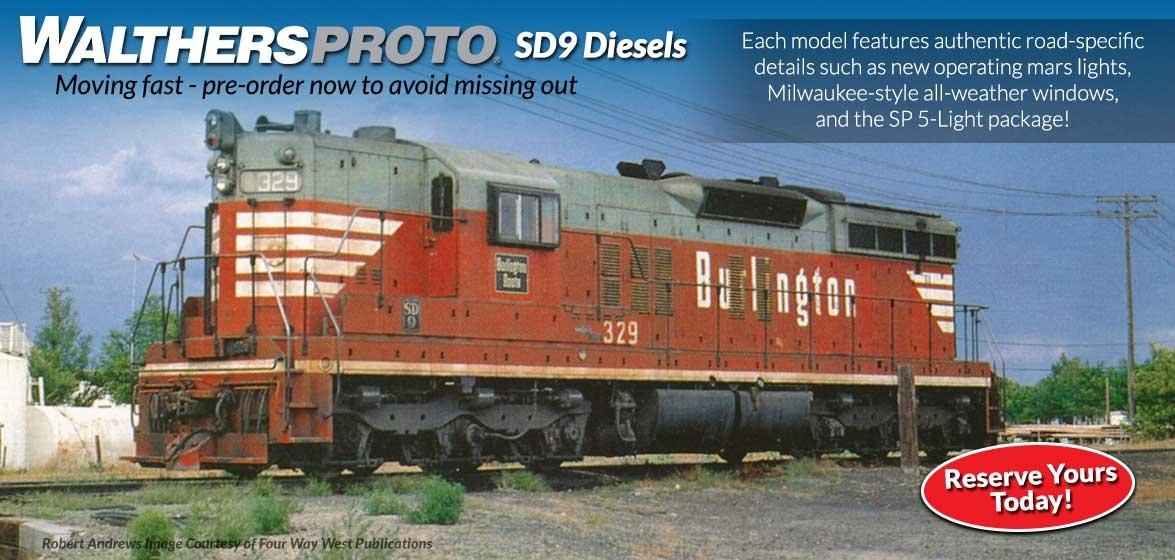 SD9 Diesels