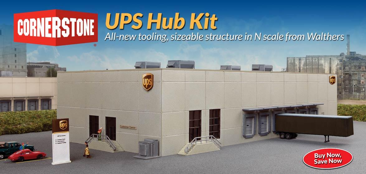 Cornerstone N Scale<br />UPS Hub kit