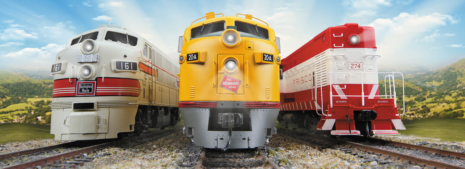 Model Trains and Model Railroad Trains