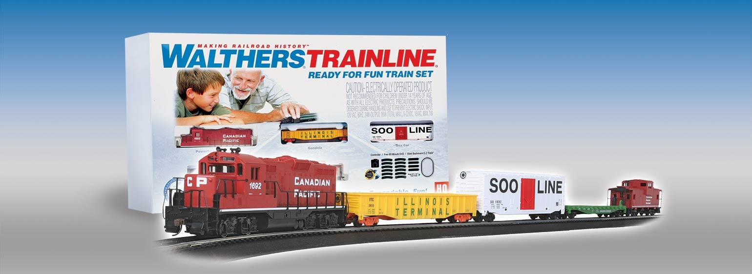 Ho Scale Train Set