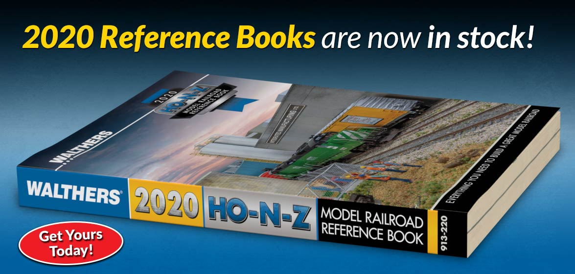 Walthers 2020 HO, N & Z Reference Book