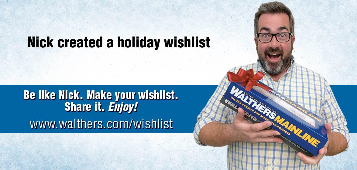Walthers Wish List